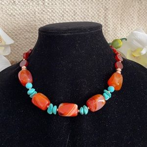 GENUINE stone necklace from BARSE
